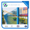 2200mmhx2400mmw Curvy Welded Wire Mesh Fence