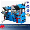 Double Station Vacuum Rubber Vulcanizing Press Machine