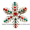 Chrismats Series Brooch Christmas Decoration Wholesale Fashion Joker Diamond Rhinestone and Rhinestone Brooch (B02)