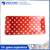 Bicolor Melamine Rectangle Tray with Handle