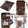 Theft Protection Hidden RFID Passport Holder Neck Travel Wallet
