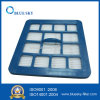 Blue Square Filter with ABS Frame for Vacuum Cleaner