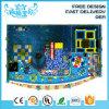 Factory Price Ocean World Theme Plastic Slide Soft Play Foam Ball Pit Equipment Kids Indoor Playground