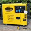 5kVA 6kVA Silent Type Diesel Generator with ATS Optional