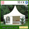 Hot Sale Aluminum Frame Garden PVC Cover Pagoda Tent with Roof Lining