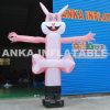 8FT Inflatable Cartoon Rabbit Air Dancer for Sale