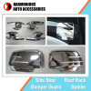 Chromed Handle Inserts and Side Mirror Covers for Isuzu D-Max 2012 Dmax