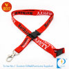 Hot Sale Flat Polyester Printed Card Holder Lanyard