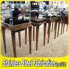 Keenhai Custom-Made Stainless Steel+Glass Jewelry Display Case