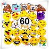 Emoji-Pop Plush Pillow Keychain Emoji Party Supplies Favors Car Key Ring Pendant Keychain Decorations 2""