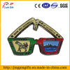 Customized High Quality Glasses Shape Metal Badge