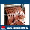 1.0mm NBR Rubber Conveyor Belt Endless Nylon Base Driving Belt Power Transmission Flat Belt with Kinds of Color