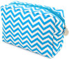 Colorful Stripe Cosmetic Bag Wholesale Canvas Makeup Bag