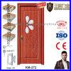 Wooden PVC Door with Glass