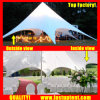 Supplier Aluminum Star Shade Tent for Outdoor Party Diameter 16m 150 People Seater Guest