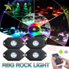 Super Bright Multi Color Changing 4 Pods RGB LED Rock Light