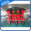 3 Tubes Flying Towables / Inflatable Flying Fish Banana Boat for Water Sports