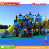 TUV Certified Most Safety and Adjust for 3-12years Children Outdoor Playground PE Slide (HD17-163A)