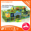 Jungle Theme Indoor Playground Equipment Naughty Castle for Baby