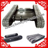 Custom Built Rubber Track System / Rubber Track Undercarriage From China Factory