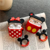 Cute Cartoon Mickey Minnie Soft Silicone Doll Case for Apple Airpods Case Wireless Bluetooth Earphone Toy Story Cover