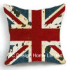 Decoration Square Britsh Flag Design Decor Fabric Cushion W/Filling