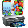 System/Machine/Software for Personalized Mobile Phone Skin/Sticker