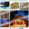 Flame Resistant Synthetic Plastic Palm Thatch Caribbean Natural Look