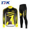 17k Long Men Club Team Uniform Cycling Clothes with Sublimation Printing