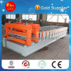 Arc Cut Double Glazing Tile Sheet Metal Roofing Plate Rolling Machine