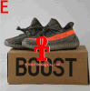 2017 Originals Yeezy 350 Boost V2 Beluga Sply-350 Black White Black Peach Men Women Running Shoes Kanye West Yezzy Boost 350 with Box