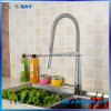 Durable Sprinkle Long Neck Pull out Kitchen Faucet with Swivel Spout