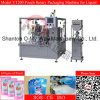 Zipper Pouch Water Juice Chilli Sauce Packaging Machine