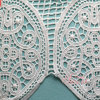 Water Soluble Embroideried Wedding Lace Chemical Lace