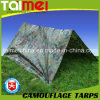 80GSM-200GSM Camo Tarps China Manufactured Waterproof PE Tarpaulin