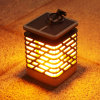 Solar LED Candle Flame Effect Light Flickering Flame Lamp Simulated Decorative