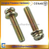 Galvanized Cross Recessed Pan Head Machine Sems Screws