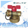 Bleeding Ball Valve for Removable Connector