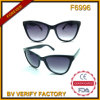 F6996 Wholesale in China Cheap Cat Eye Polarized Sunglasses