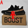 2017 Discount Wholesale Boost 350 Boost V2 Running Shoes Best Men Women Wholesale Sply-350 Cheap Black White 2017 New Sports Shoes with Box