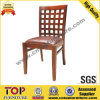 Leather Seat Wooden Restaurant Dining Chair