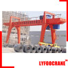 Port Container Double Girder Mobile Gantry Crane