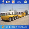 4 Axle 80t Removable Gooseneck Lowbed for Sale