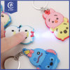 Best Promotion Gift Animal Type Plastic LED Light Key Chains