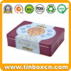 Rectangular Tin Metal Box for Gift Can Packaging, Tin Box