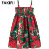 2021 High Quality Customize Brand Wholesale American and Europe Style Children Kids, Girls Clothes Casual Beach Dress