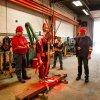 Crane Safety Zone Light System Red/Blue Hoist Crane Warning Light for Heavy Industry