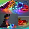 Leopard Printing Pattern Color LED Dog Collar (Battery)