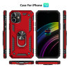 2020 New Military Anti Drop Car Phone Case 360 Rotation Super Durable Back Cover with Stand for iPhone 12