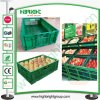 Hyper Market Black Folding Stacking Vegetable Crate